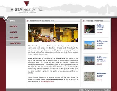Vista LV Realty's Homepage